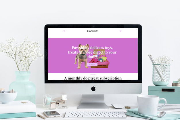 Subscription Box service PawshBox worked with Paitai Design to get their store up and running in Shopify