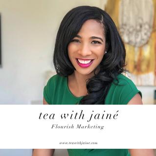 TEA WITH JAINE PODCAST