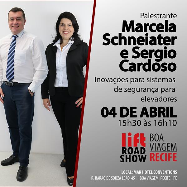 PALESTRA Marcela Schneiater e Sergio Car