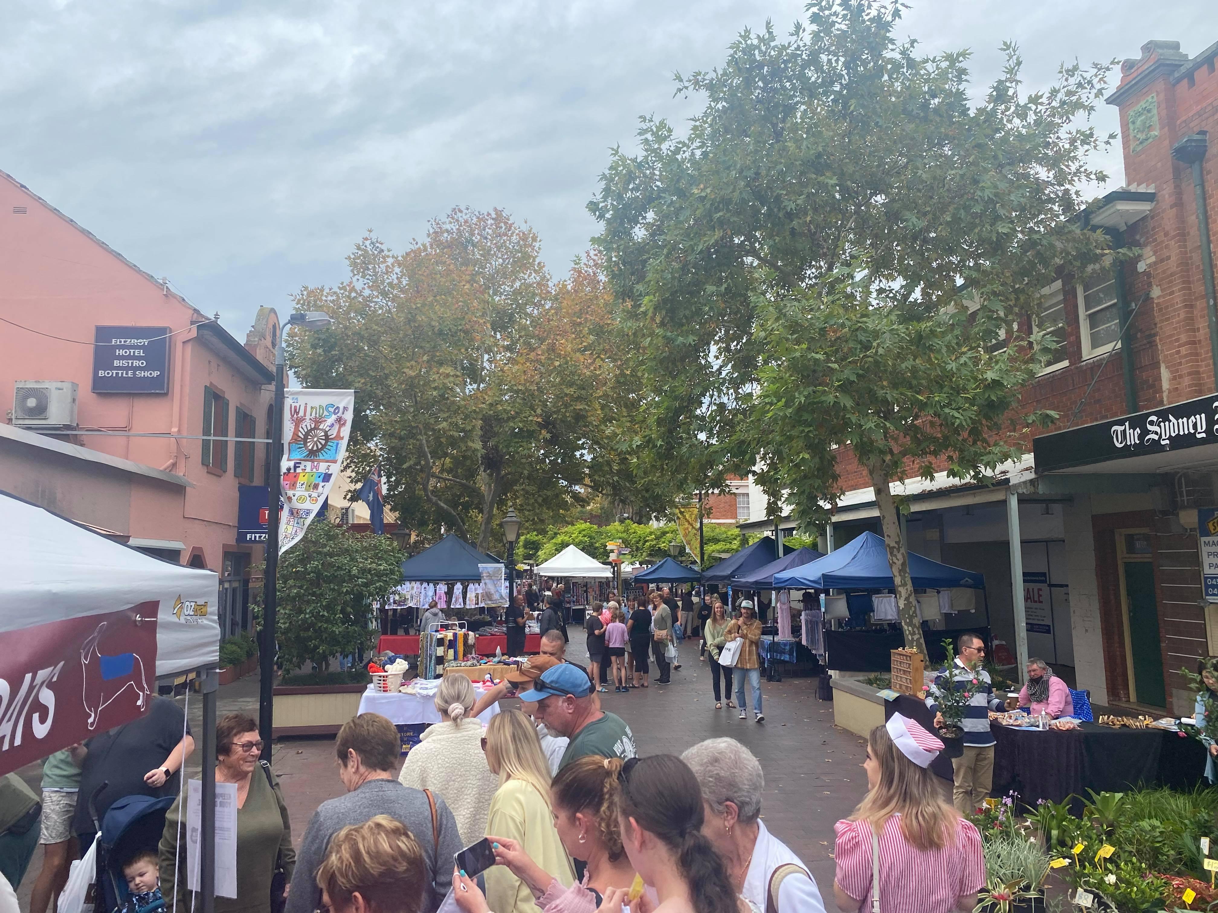 Windsor Mall Sunday Market