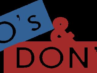Social Media: Do's & Don'ts for Artists