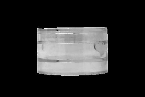 Pote Cristal 4g Completo S/ Rosca C/ Encaixe - Brilho Labial (25 Unidades)
