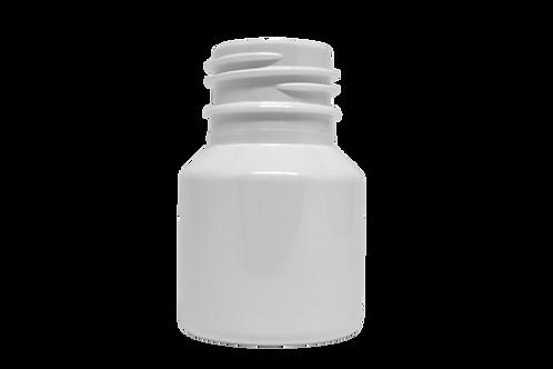 Frasco PET Farma GPP28 40ml Branco (25 Unidades)