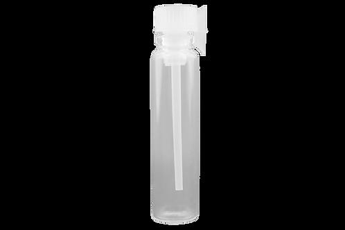 Flaconete de Vidro 1.5ml C/ Tampa Aplicadora (25 Unidades)