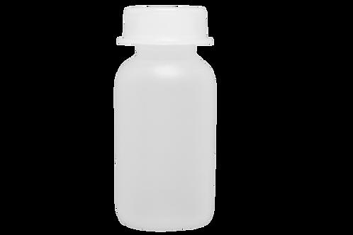 Flaconete de Plástico 5ml Natural (25 Unidades)