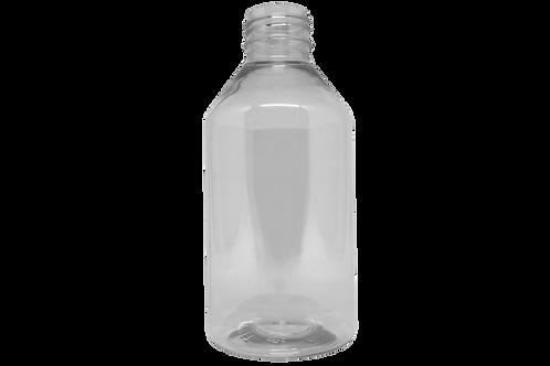 Frasco PET Farma GPP28 250ml Cristal (25 Unidades)