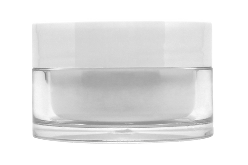 Pote Luxo Jubilee 50ml C/ Tampa Branca (10 Unidades)