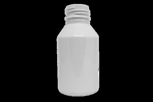 Frasco PET Farma GPP28 100ml Branco (25 Unidades)