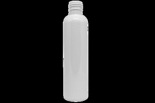 Frasco PET Cosm Cil 200ml Branco  R24/415 (25 Unidades)
