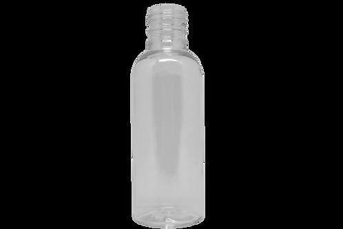 Frasco PET Cosm Cil 120ml Cristal (25 Unidades)