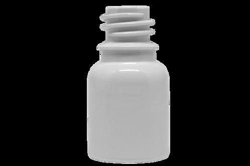 Frasco PET Farma R18 10ml Branco (25 Unidades)