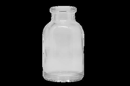 Frasco Vidro Injetável 20ml R20MM Transparente (25 Unidades)