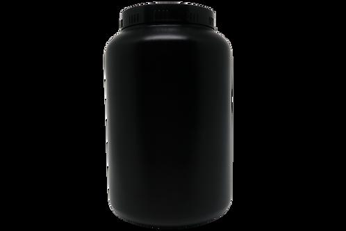 Pote Plástico Rosca Preto 2kg (20 Unidades)