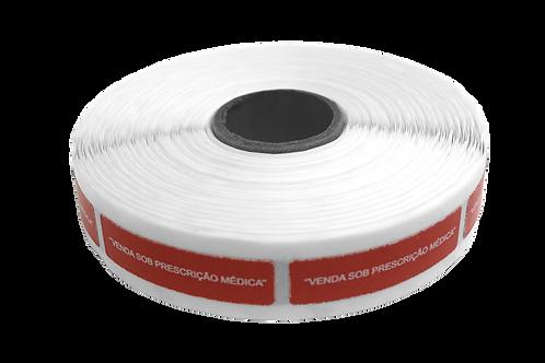 Etiqueta Adesiva Venda Sob Prescrição Médica (1 Rolo C/ 1000 Unidades)