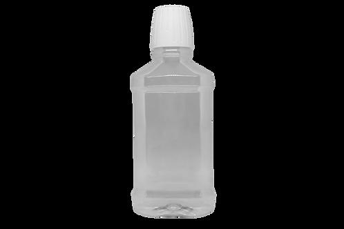 Frasco Enxaguante Bucal PET 240ml Cristal