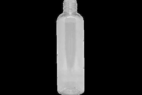 Frasco PET Cosmético Cilíndrico 240ml Cristal R24/415 (25 Unidades)