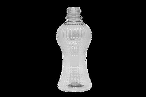 Saboneteira PET Cintura 350ml Cristal