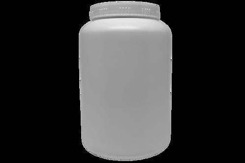 Pote Plástico Rosca 2kg Branco (20 Unidades)