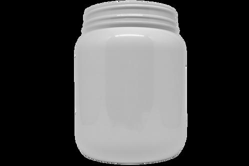 Pote PET Branco 1700ml Lacre 110mm