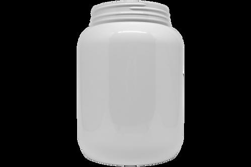 Pote PET Branco 2800ml Lacre 110mm (25 Unidades)