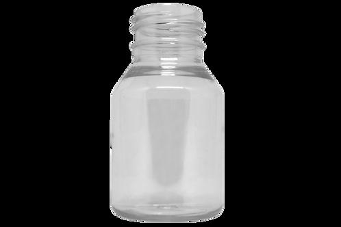 Frasco PET Farma GPP28 60ml Cristal (25 Unidades)
