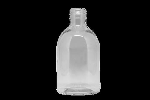 Saboneteira PET Cilíndrica 250ml Cristal R24/415 (25 Unidades)