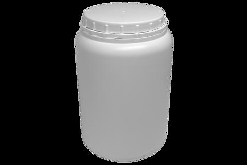 Pote Plástico Rosca 3kg Branco