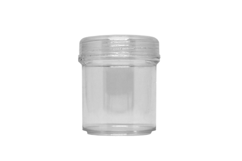 Pote Cristal 200ml C/ Tampa (25 Unidades)