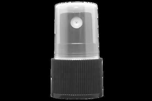 Válvula Spray  R20/410 Preta (25 Unidades)