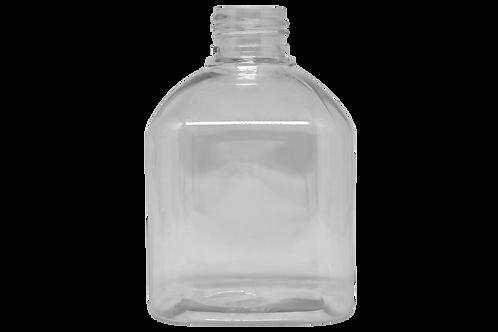 Saboneteira PET Quadrada 240ml Cristal