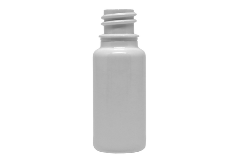 Frasco PET Farma R18 20ml Branco (25 Unidades)