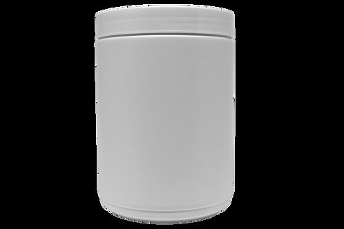 Pote Plástico Rosca 1,5kg Branco (20 Unidades)