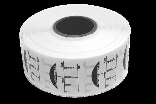 Etiqueta Adesiva Rastreamento (1 Rolo C/ 1000 Unidades)