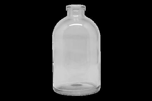 Frasco Vidro Injetável 100ml R20MM Transparente (25 Unidades)