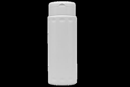 Frasco Talqueira Cilíndrica 60g/100ml Branca Completa (25 Unidades)
