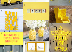 inspo monday: yellow