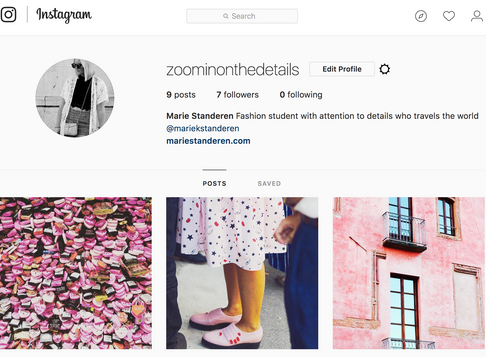 New Instagram account - again