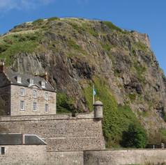 Dumbarton Rock and Governor's House