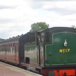 Steam train at Aviemore