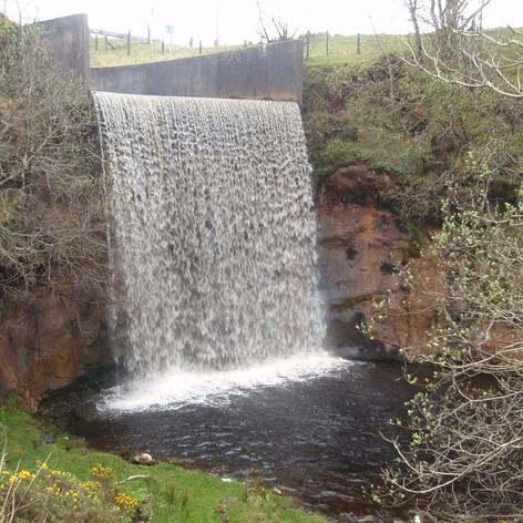 Waterfall at Cornalees