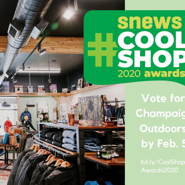 Cool Shop Awards   Champaign Outdoors