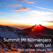 Kilimanjaro Trip in August 2020