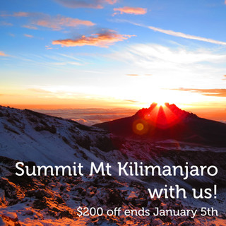 Kilimanjaro Trip in August 2020