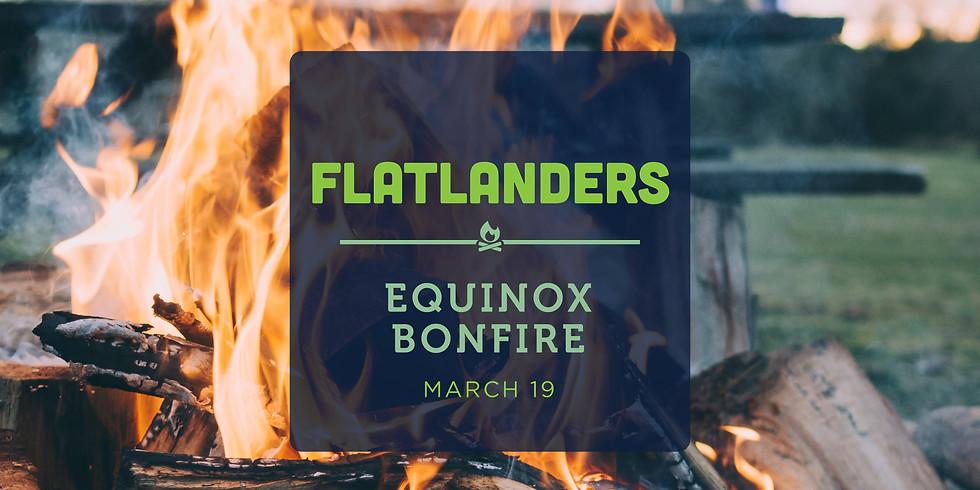 Spring Equinox Bonfire