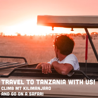 Travel to Tanzania with Us!