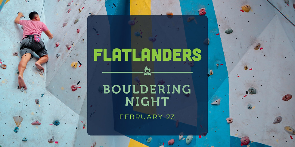 Bouldering Night