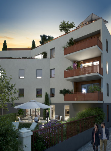Illustration immobiliere 3d