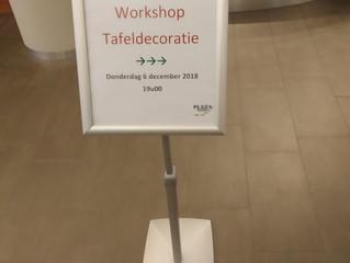 Workshop Tafeldecoratie 6 December