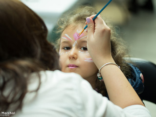 Surprise for all kids - free face-painting