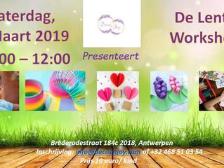 De Lente Workshop 2 Maart 2019